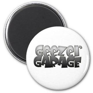 geezer garage 2 inch round magnet