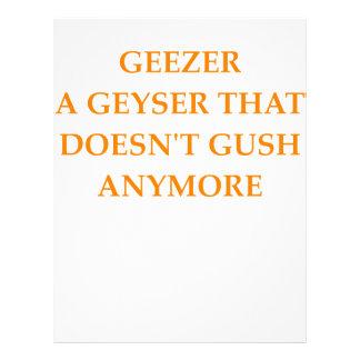 GEEZER LETTERHEAD