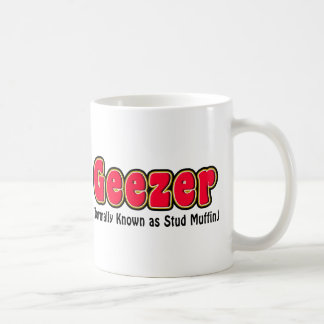 Geezer or Stud Muffin Grandpa Coffee Mug Mugs