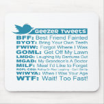 Geezer Tweets - Mousepad