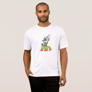 Geezers Go For It Stationary Bike T-shirt