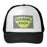 Geezers Rock Baseball Cap Trucker Hat