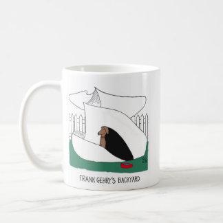 Gehry's doghouse coffee mug
