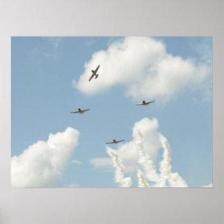 GEICO Skytypers. Impresiones