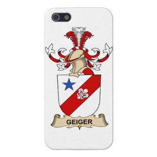 Geiger Family Crest Case For iPhone 5