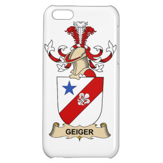 Geiger Family Crest iPhone 5C Covers