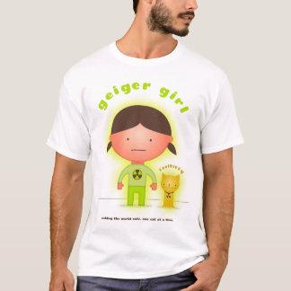 Geiger Girl and Toxikitty superhero T-shirt