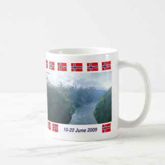 Geiranger Fjord, Norway Classic White Coffee Mug
