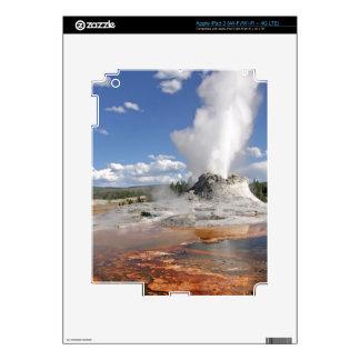 GÉISER DEL CASTILLO DE YELLOWSTONE iPad 3 SKINS