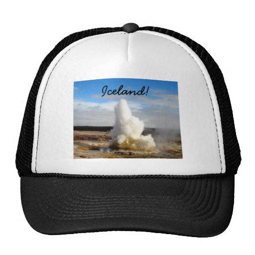 Géiser islandés gorra