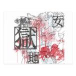 Geisha Art Postcard