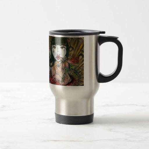 Geisha bonito taza de café
