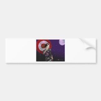 Geisha Bumper Sticker