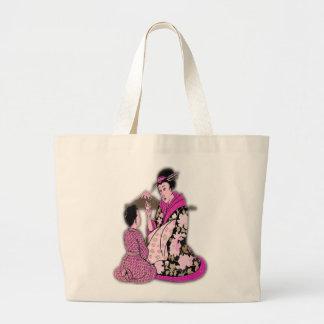 Geisha Canvas Bags