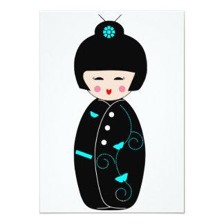Geisha Cartoon Invitations