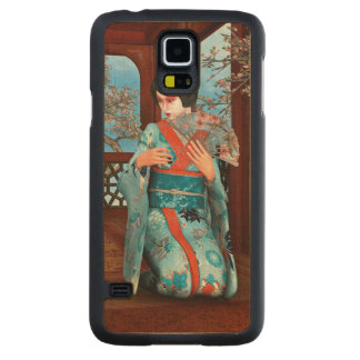 Geisha Carved Maple Galaxy S5 Case