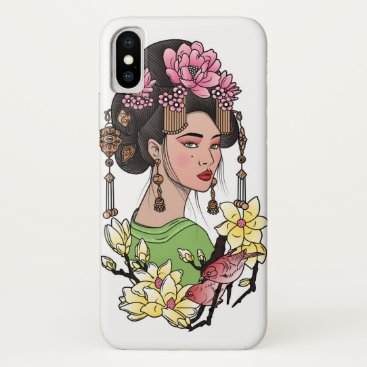 Geisha iPhone X Case