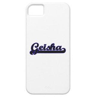 Geisha Classic Job Design iPhone 5 Case