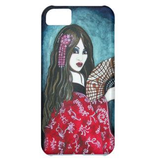 Geisha con la fan funda para iPhone 5C
