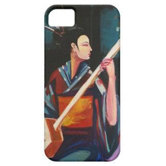 Geisha congregando a Hendrix iPhone 5 Carcasa