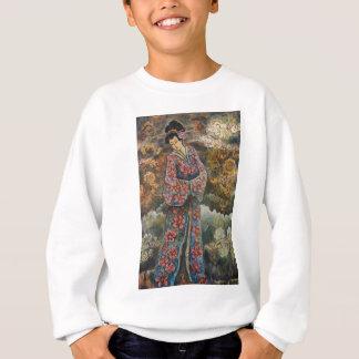 Geisha de la flor de cerezo, productos de la bella remera