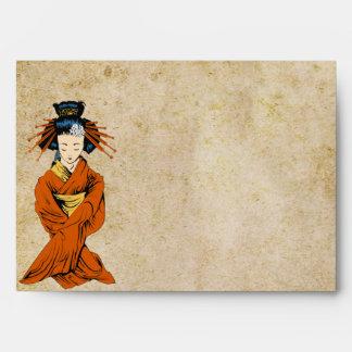 geisha de la opción 3 del sobre 5x7