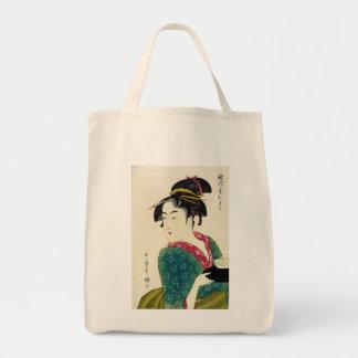 Geisha de Naniwaya Okita Bolsa De Mano