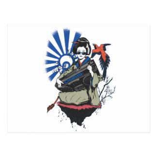 Geisha de Osiris Tarjetas Postales