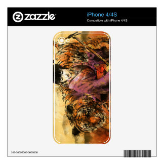 Geisha Decal For The iPhone 4