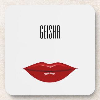 geisha - decors for your home coaster