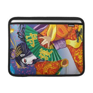 """Geisha del aire de Mac Book 13"""" manga del carrito Funda Macbook Air"""