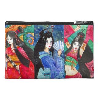 Geisha del dragón, bolso japonés del accesorio del