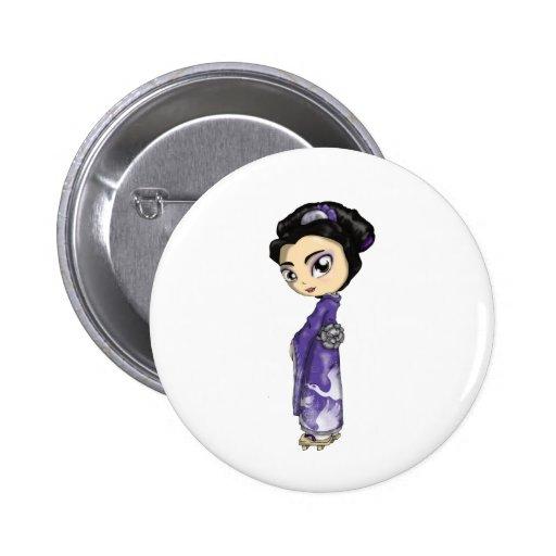 Geisha divino de las grúas pins