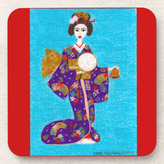Geisha Doll Coaster
