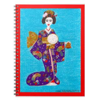 Geisha Doll Journal