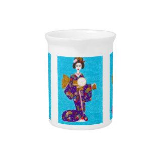 Geisha Doll Pitcher