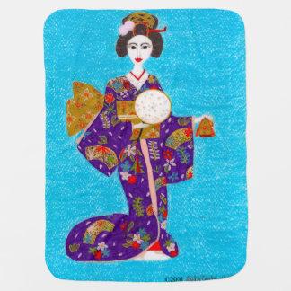 Geisha Doll Swaddle Blanket