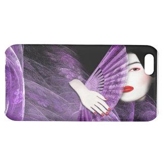 Geisha en la caja púrpura iPhone4