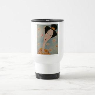 Geisha Floral Mug