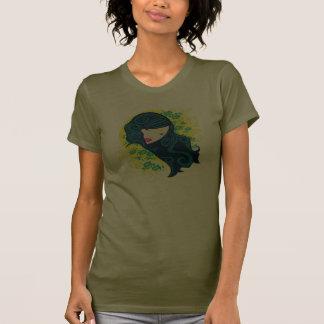 Geisha Flowers T-shirt