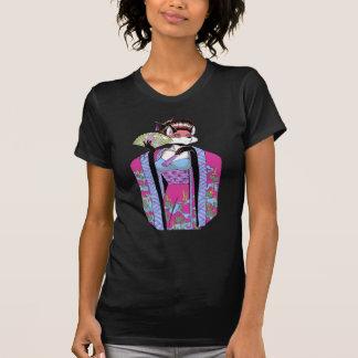 Geisha Fox Babydoll T-shirt