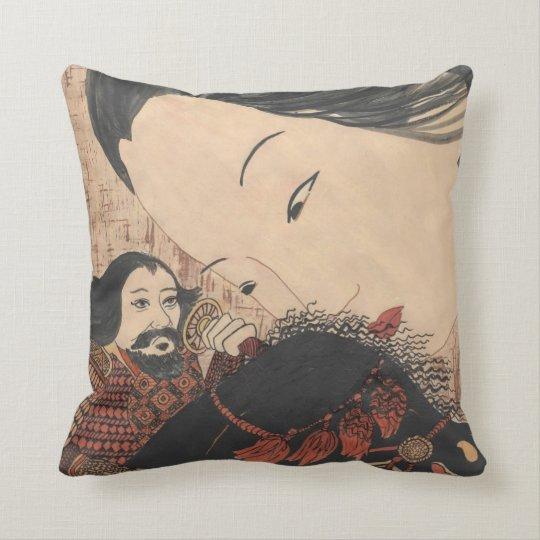 Geisha Ghost American MoJo Pillow