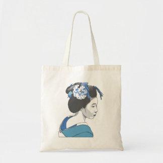 Geisha Girl Canvas Bags