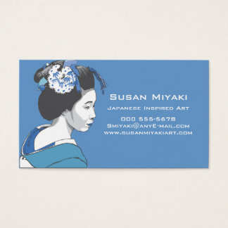Geisha Girl Business Card