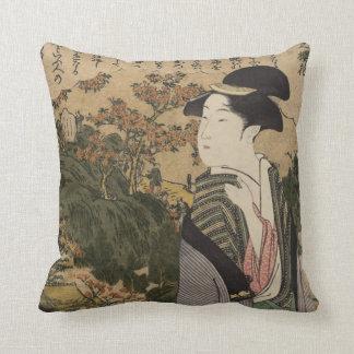 Geisha Girl Pillows