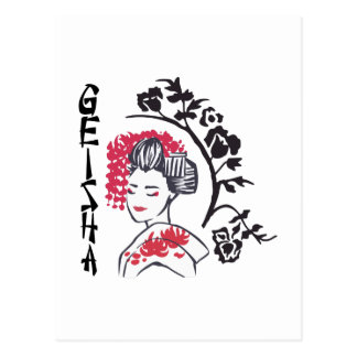 GEISHA GIRL POSTCARD