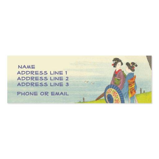 Geisha Girls Business Card