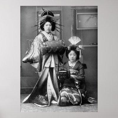 geisha girls  early 1900s