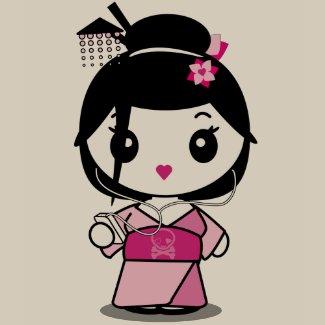 Geisha Grooves shirt