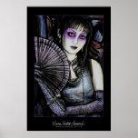 Geisha - impresión poster